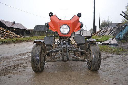 Квадроцикл с двигателем днепр