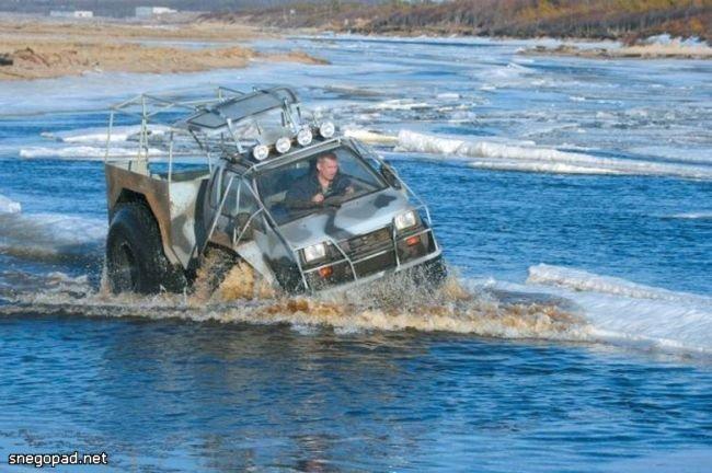 Северодвинский вездеход из Оки